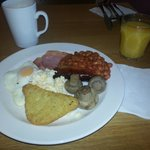  The full English Breakfast.