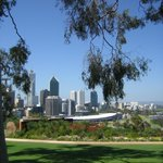 Perth city view from lookout