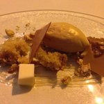 Don't pass on the parsnip. Dessert at Titchwell Manor.