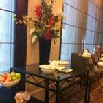                    Tea Break Area for Event