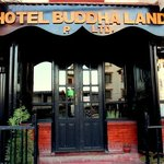 Entrance of Hotel Buddha Land