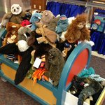 wide selection of puppets