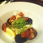                    great scallop with chorizo