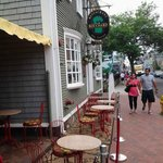  Outdoor dining and Patio on Historic Thames Street
