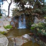                    Waterfall near the top of the gardens