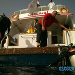                    Oonas Dive Club boat