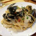  spaghetti cozze e pecorino.....super!!!!