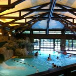Piscine du Sequoia Lodge.