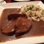  the sauerbraten &amp; spaetzel