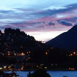 Sunrise over Queenstown