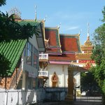                    View of Temple at end of Street