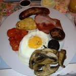                    Amazing cooked breakfast