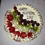                                      Mother&#39;s Day surprise cake made by four seasons