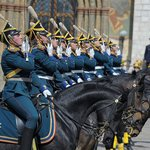 Ceremonial Parade in the Kremlin