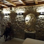 Love the original stone walls!