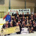  Powassan Hawks Atoms 2013 NOHA Champs - a great group of kids and parents stayed with us at the 