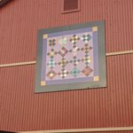                    Large Quilt Square Outside
