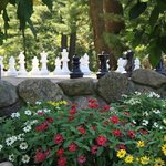  Manor Gardens and Outdoor Chess Set