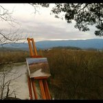                    Painting the Nolichuckey River