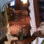                    Beautiful staircase in the main building