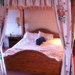 our four poster bed enjoyed by our son