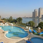 Pool Deck overlooking the Nile