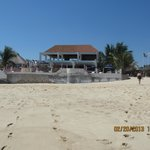                    Beach club on Bahia Chahue