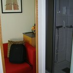                    right part of the room, access to bathroom