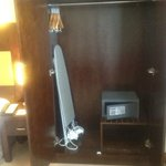 Wardrobe with Safe and Ironing board