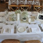 Wedding Set table