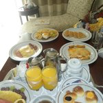 Room service -Breakfast