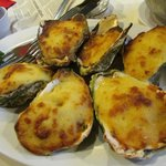 Cheesy baked Oyster