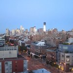 View from Bowery Hotel - 9th floor corner room