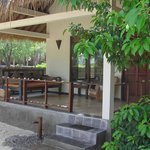  Outside sitting area bungalow