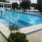                   Piscina termale con giochi d&#39;acqua