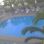the pool from our room