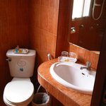 Small & Low bathroom