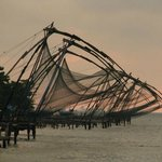 Nearby chinese fishing nets