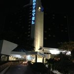 Novotel Bangna at night