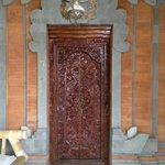 beautifully carved doors