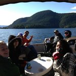 On the boat tour - March 03rd, lovely day!