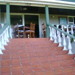 steps leading to verandah
