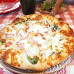 This is the ELTON JOHN PIZZA This pizza won the International Award a must try