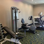 Fitness Center with New Equipment