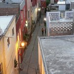                    Lane leading up to Perros Muertos