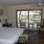                    Second floor poolside room