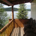 Loon Bay Cabin's Porch