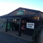 A great farm shop with a brilliant restaurant !