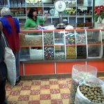 Various chocolates, nuts and candies sold (Semillas Sto. Dom