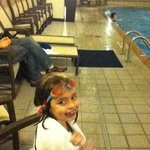 my 7 yr old Ashlee, my lil water bug :D